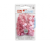 PRYM LOVE Кнопки Color Shaps Mini, розовый, 36 шт., 393500