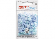 PRYM LOVE Кнопки Color Shaps Mini, голубой, 36 шт., 39350111